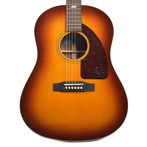 Epiphone Inspired by 1964 Texan Acoustic-Electric Vintage Cherry