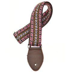 "Souldier Laredo Vallarta Brown/Grey/Purple 2"" Strap (Nutmeg Belt & Worn Brown Ends)"
