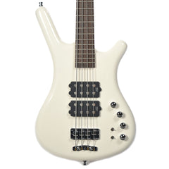 Warwick German Pro Series Corvette $$ 4-String Bass Ash Cream White High Polish