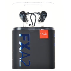 Fender FXA2 Pro In-Ear Monitors Metallic Black