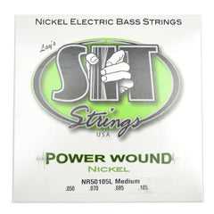 S.I.T. Power Wound Nickel Plated Bass Strings Medium
