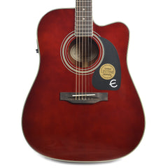 Epiphone PRO-1 Ultra Dreadnought Acoustic Wine Red