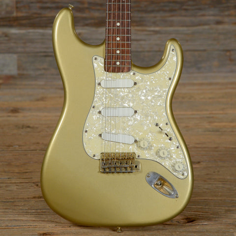 Fender American Deluxe Stratocaster Gold 1989 (s183)