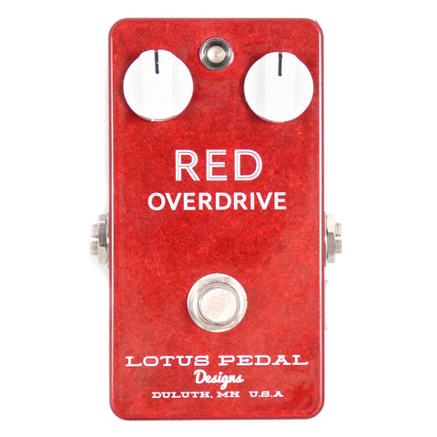 Lotus Pedal Designs Red Overdrive