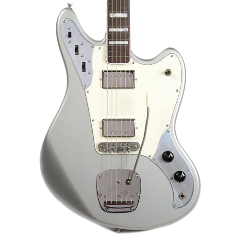 BilT Relevator LS Inca Silver Metallic w/Lollar Low Wind Imperials, Block Inlays, & Mastery Vibrato (Serial #1591)