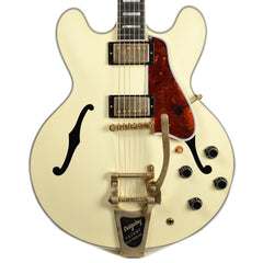 Gibson Memphis ES-355 VOS Classic White w/Bigsby (Serial #13146719)