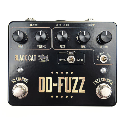 Black Cat OD Fuzz CME Exclusive