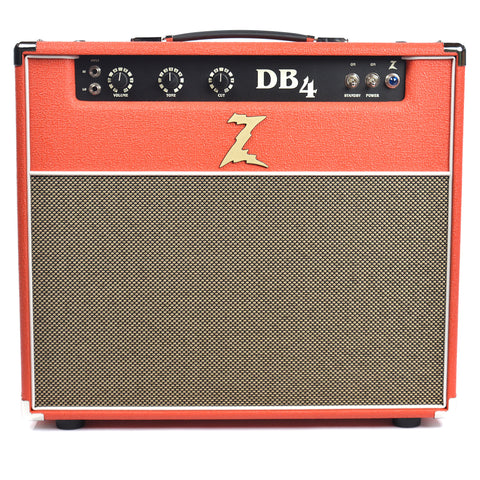 Dr. Z DB4 1x12 18/38W Combo Red w/Tan Grill & Celestion Gold