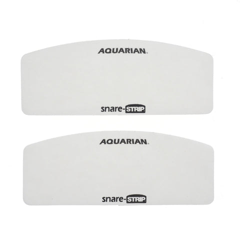 Aquarian Snare Strip Snare Head Protector and Tone Modifier 2 Pack