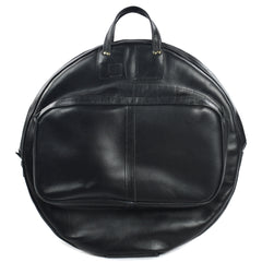 Cac Sac 24 Inch Leather Cymbal Bag Black