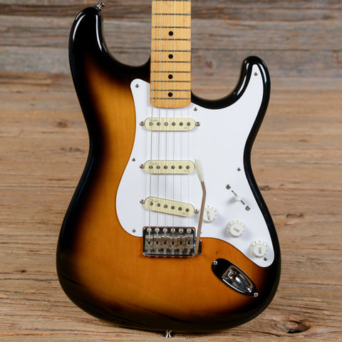 Fender Japan '54 Reissue Stratocaster Sunburst 1990 (s416)