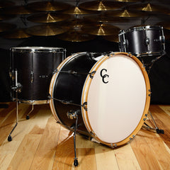 C&C Player Date 1 Big Band 3pc Drum Kit 13/16/24 Ebony Stain