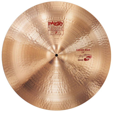 "Paiste 24"" John JR Robinson Signature Groove 2002 Swish Ride"