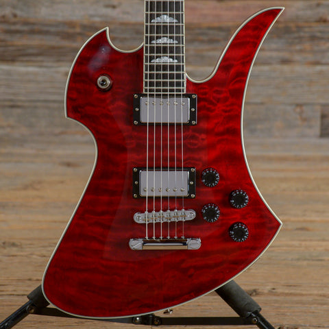 B.C. Rich Mockingbird X Transparent Red USED (s959)