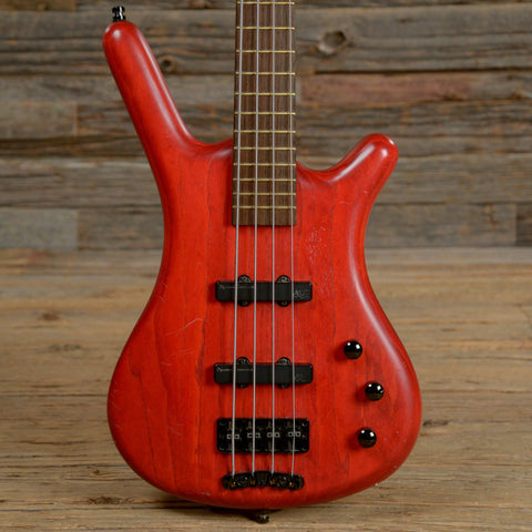 Warwick Corvette Standard Transparent Red 2006 (s706)