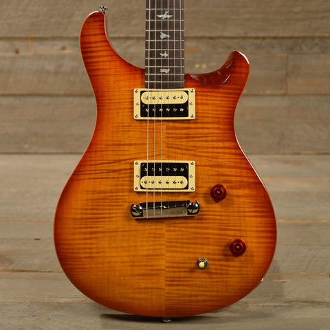 PRS SE Custom 22 Vintage Sunburst w/Gig Bag USED