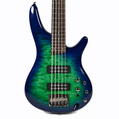 Ibanez SR405EQM 5 String Surreal Blue Burst Gloss