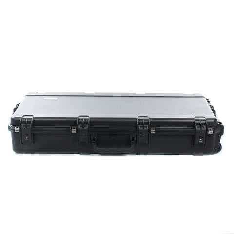 SKB 3i-4214-56 Injection Molded Acoustic Dreadnought Shaped Guitar Flight Case w/TSA Latches & Wheels