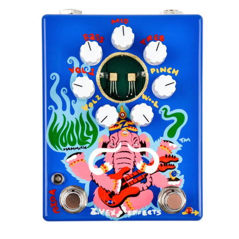 Zvex Woolly Mammoth 7 Fuzz Hand Painted