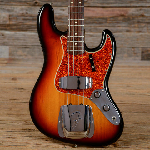 Fender Fullerton '62 Jazz Bass Reissue RW Sunburst 1982 (s748)