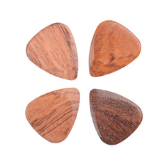 Timber Tones Bloodwood Guitar Picks 4Pack