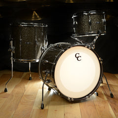 C&C Player Date 1 12/14/18 3pc Bebop Kit Grey Glitter