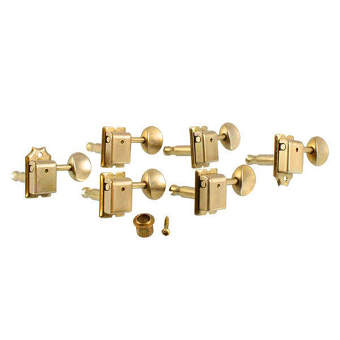 Gotoh Tuning Keys Vintage 6-in-Line 15:1 Gold