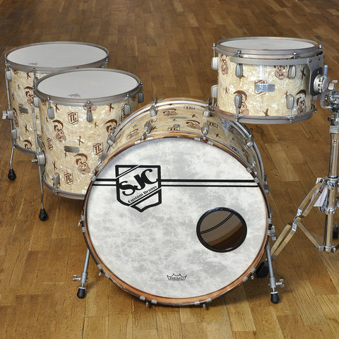 SJC Limited Edition 13/16/18/24 Tre Cool Signature 4pc Drum Kit