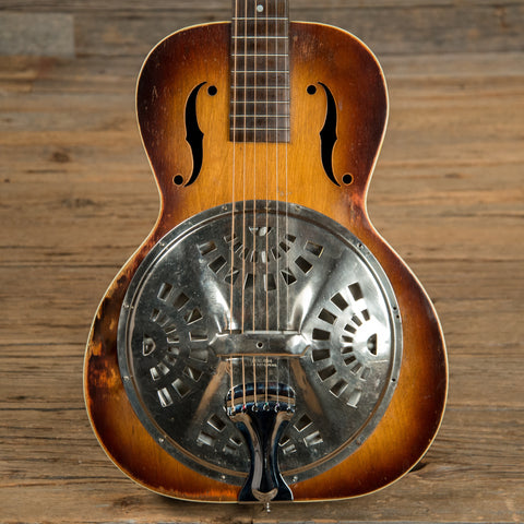 Dobro Roundneck Resonator Sunburst 1930s