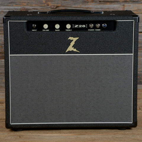 Dr. Z Z28 1x12 Combo Black w/Salt & Pepper Grill & Celestion Greenback USED