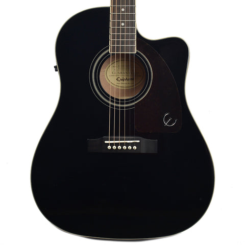 Epiphone AJ-220SCE Acoustic-Electric Ebony