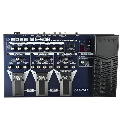 Boss ME-50B Bass Multiple Effects w/ COSM