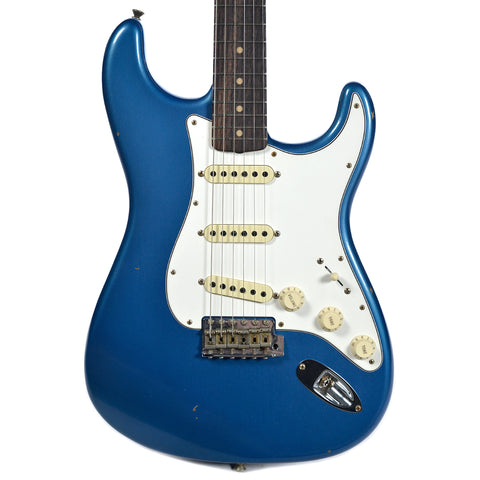 Fender Custom Shop 1960 Stratocaster Journeyman Relic RW Aged Lake Placid Blue (Serial #R88891)