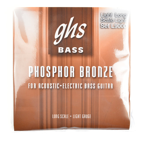 GHS Acoustic Bass Phosphor Bronze Long Scale 40-96