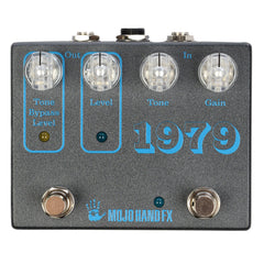 Mojo Hand FX 1979 Fuzz CME Exclusive Graphite w/ Clear Knobs