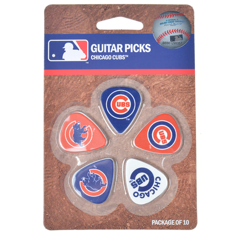 Woodrow Chicago Cubs Guitar Picks 5 Pack