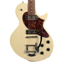 Collings 360 LT Warm White w/Tortoise Pickguard, Bigsby & Lollar Gold Foils (Serial #36016472)
