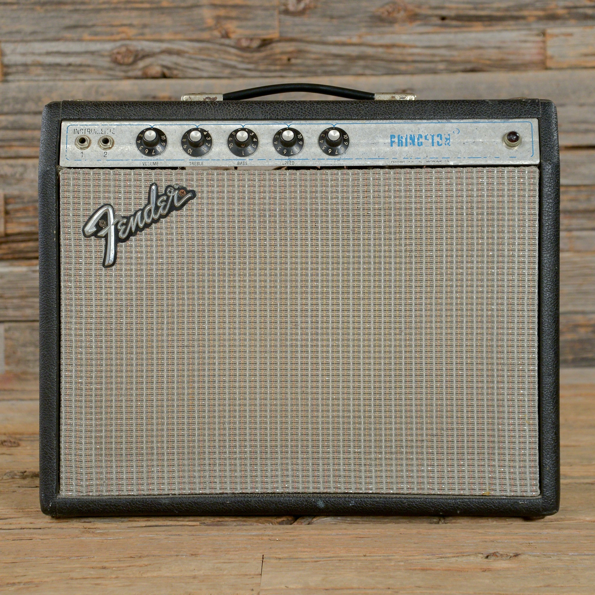 This 1974 Fender Princeton Amp 1x10 Combo Amp Is One