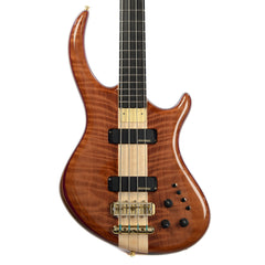 Alembic Rogue 4 Curly Redwood Top Walnut Core (Serial #Q14553)