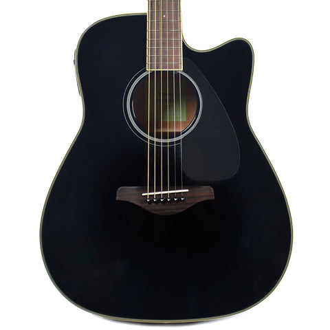 Yamaha FGX820C Folk Cutaway Acoustic-Electric Black
