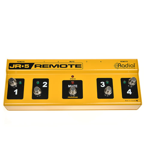 Radial JR5 Remote Foot Controller for JX44