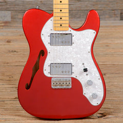 Fender American Vintage '72 Telecaster Thinline Candy Apple Red 2010 (s597)