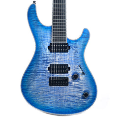Mayones Regius 7 Trans Jeans Bluburst 4A Flame (Serial #6378)