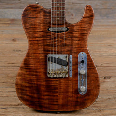 Scala T-Rod with Flame Koa Top Natural 2015 (s133)