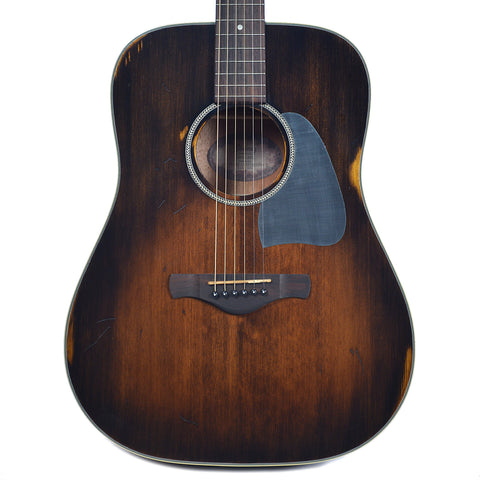 Ibanez AVD6DTS Artwood Series Dreadnought Acoustic Distressed Tobacco Sunburst