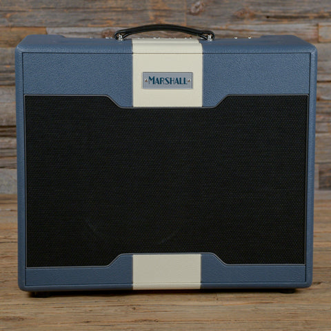 Marshall Astoria Dual 30W Hand-Wired Dual Channel 1x12 Combo Amp Blue USED