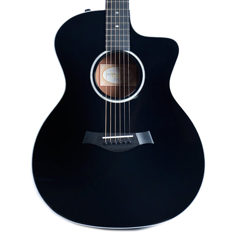 Taylor 214ce-BLK Deluxe Sitka/Rosewood Black