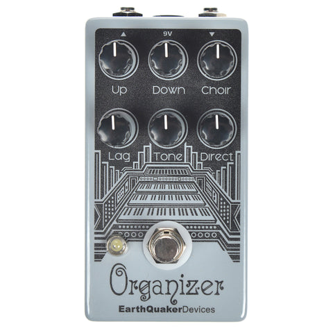 Earthquaker Devices Organizer Polyphonic Organ Emulator Limited Edition Glow-in-the-Dark