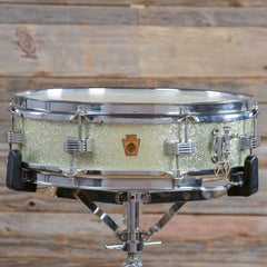 WFL 4x14 Compacto Snare Drum Faded Silver Sparkle 1950s USED