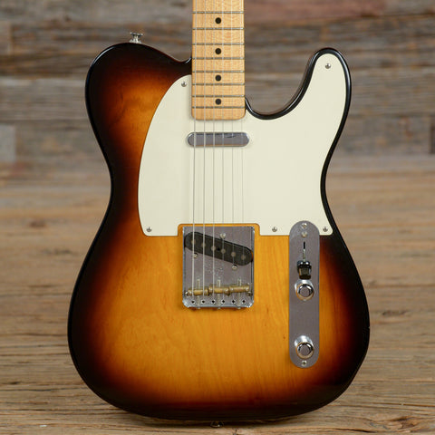 Fender Custom Shop 50's Telecaster Closet Classic MN Sunburst 2007 (s690)